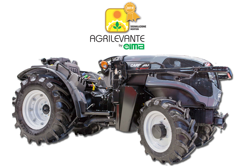 The Carraro VLB 75 COMPACT tractor will be awarded at the Agrilevante 2019 Technical Latest Products Competition