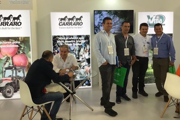 Carraro Tractors at Expo Agrofuturo 2019