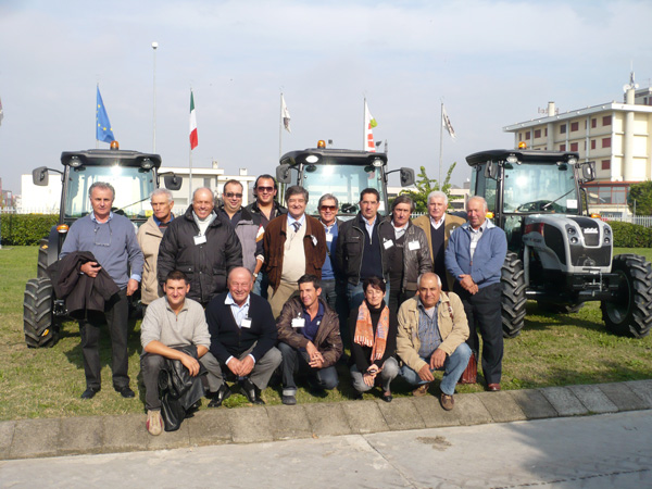 Visit to Rovigo of the dealer Marchesi Fidenzio