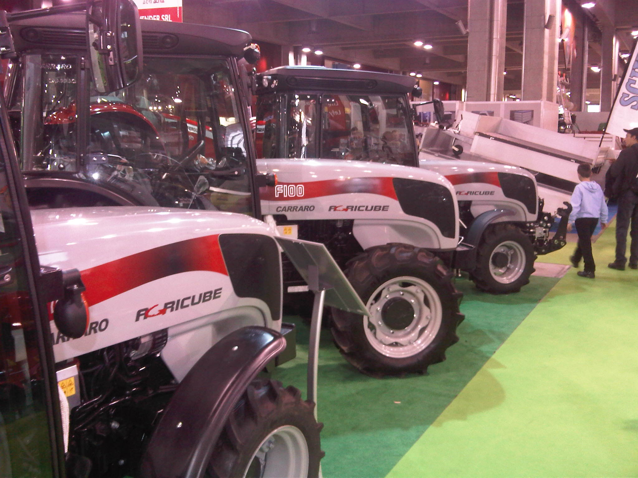 Agricube at Agrialp  2011 Exhibition