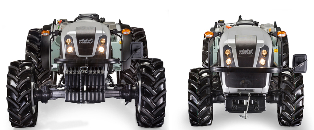 Two new specialized tractors for Specialists