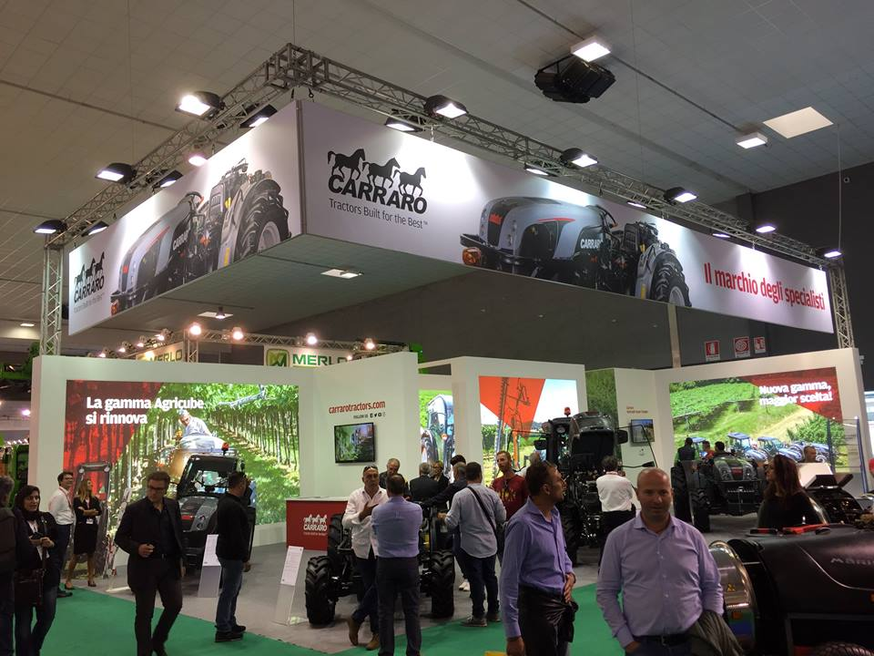 Carraro Tractors new range at Agrilevante (Bari - Italy, 12-15 October 2017)