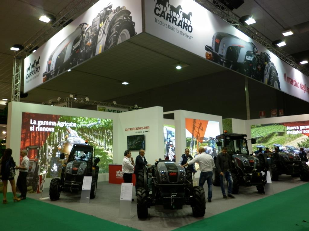 Agrilevante 2017 comes to a conclusion: another big success for Carraro Tractors!