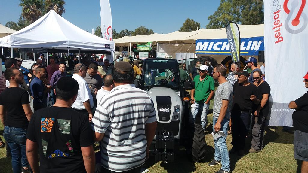 October 26, 2017, an important agricultural fair for Perfect Parts in Israel